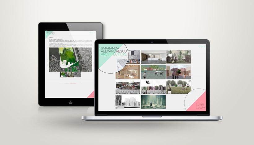 Portfolio Website | Smaranda Alexandrescu 1