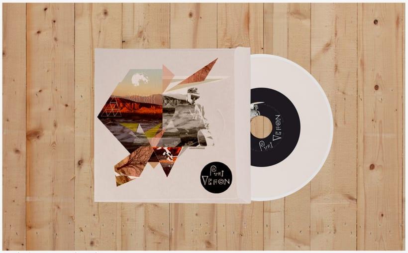 Diseño de CD,  Musico Purin Veron, New York -1