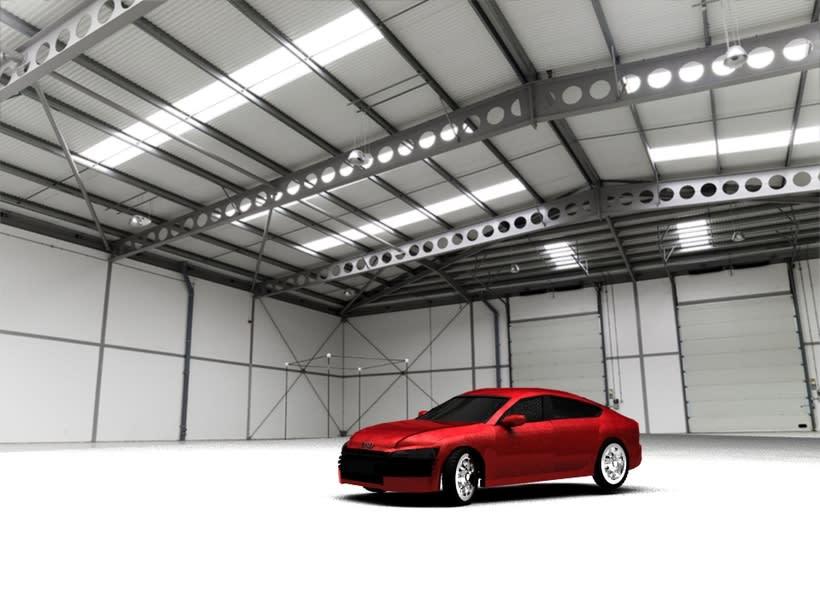 Modelado en 3D / 3D Modeling 2014 Audi / Autodesk Maya -1