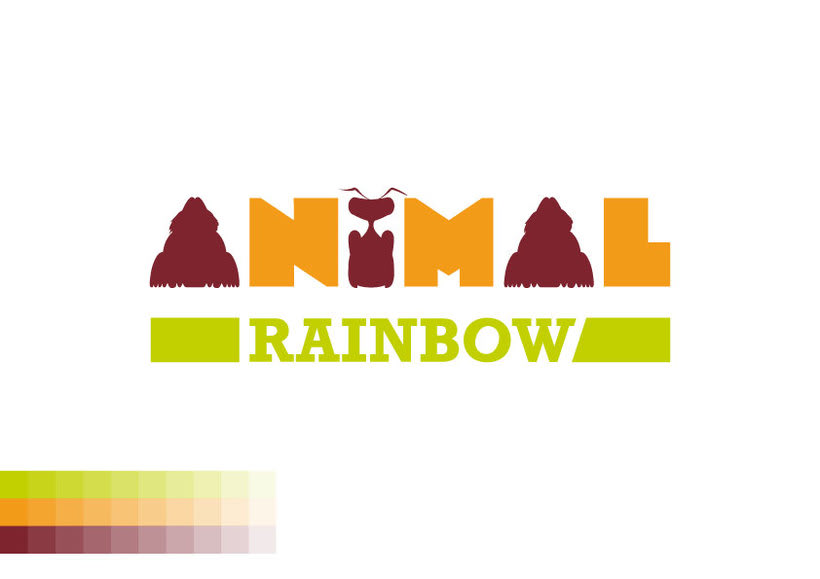 Identidad corporativa  Animal Rainbow 1