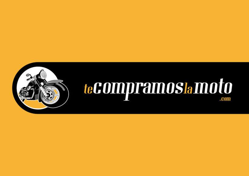 Identidad corporativa te compramos el coche / la moto .com 1