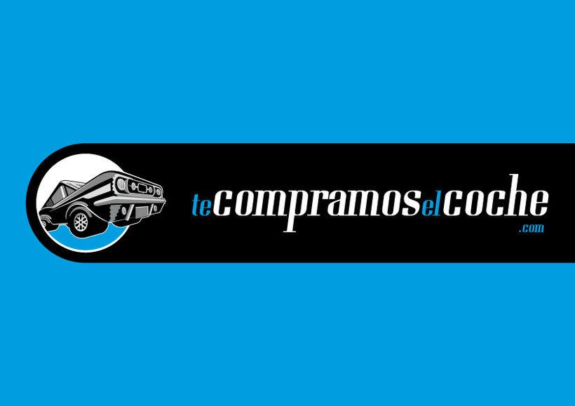 Identidad corporativa te compramos el coche / la moto .com 2