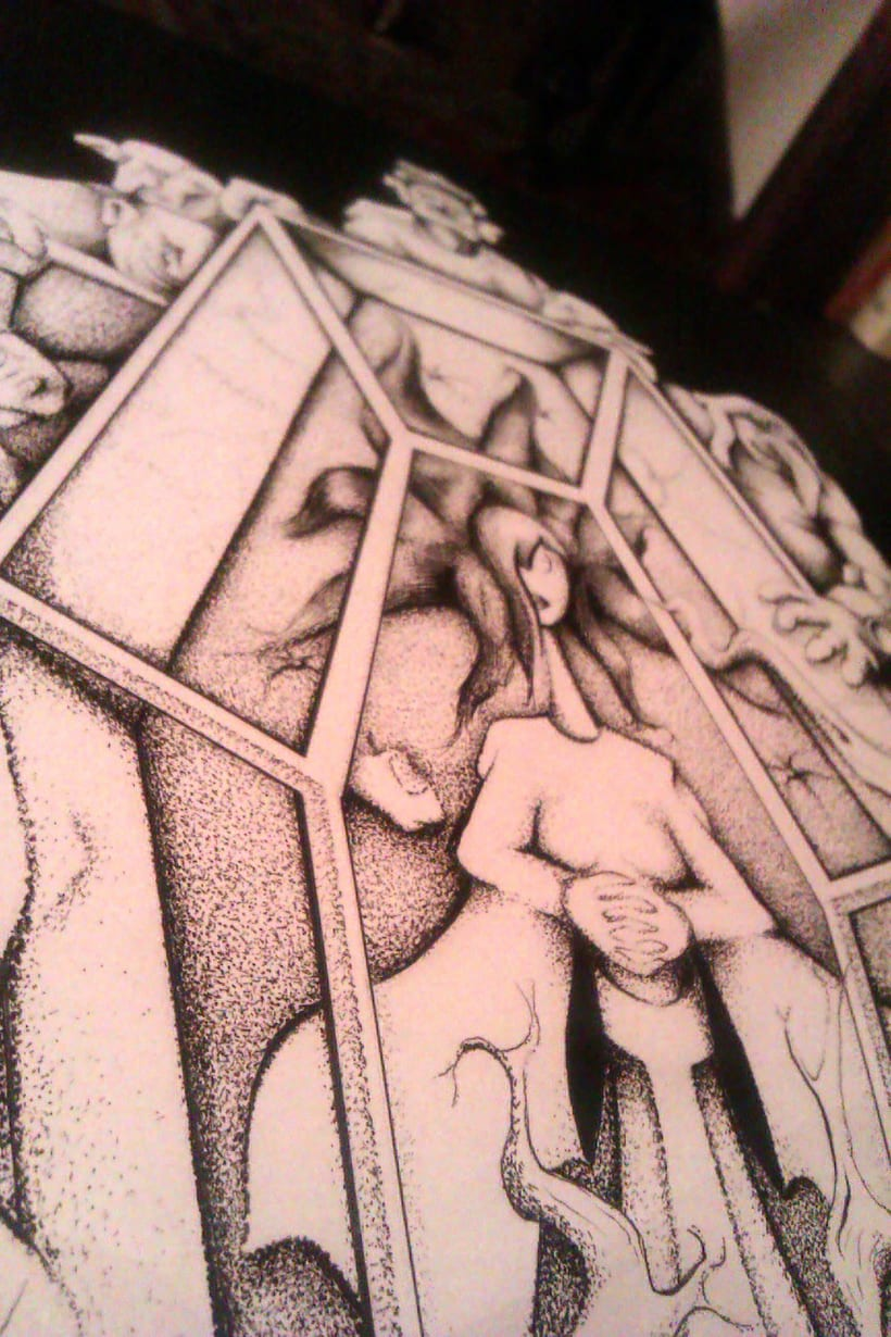 Ilustración Blancanieves -1