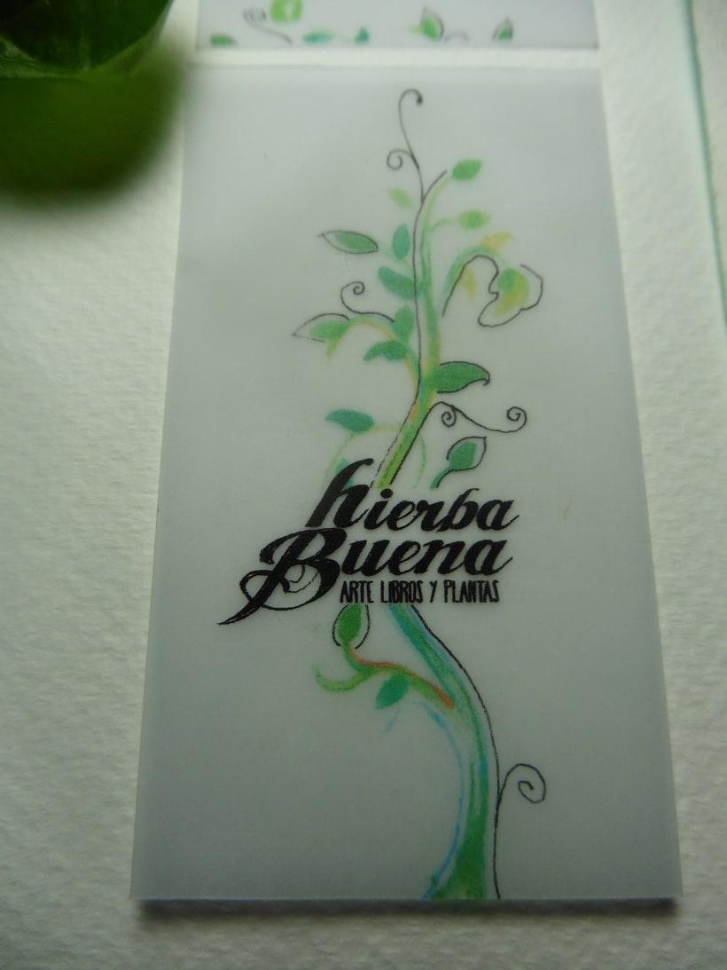 Diseño y aplicación de marca, Hierba Buena 0