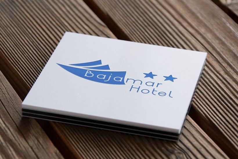 Diseño del logo de Hotel Bajamar -1