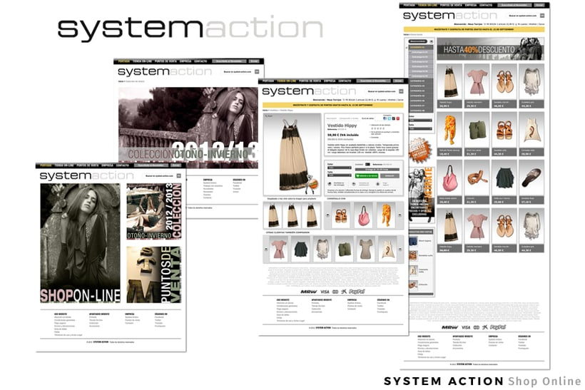 SYSTEM ACTION | eShop - Dirección Creativa / Arte  -1