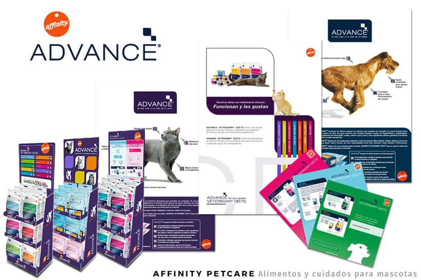 AFFINITY PETCARE - Alimentos y cuidados para mascotas - Dirección Arte - Publicidad Gráfica - Diseño Publicitario - Expositores - Publicaciones -1