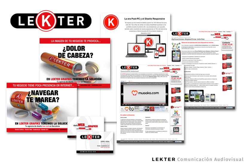 LEKTER | Comunicación Audiovisual - Dirección Creativa / Arte / Project Manager -1
