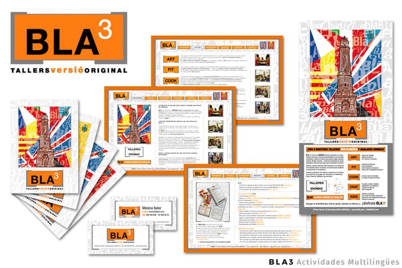 BLA3 | Actividades Multilingües - Dirección Creativa / Arte / Project Manager  -1