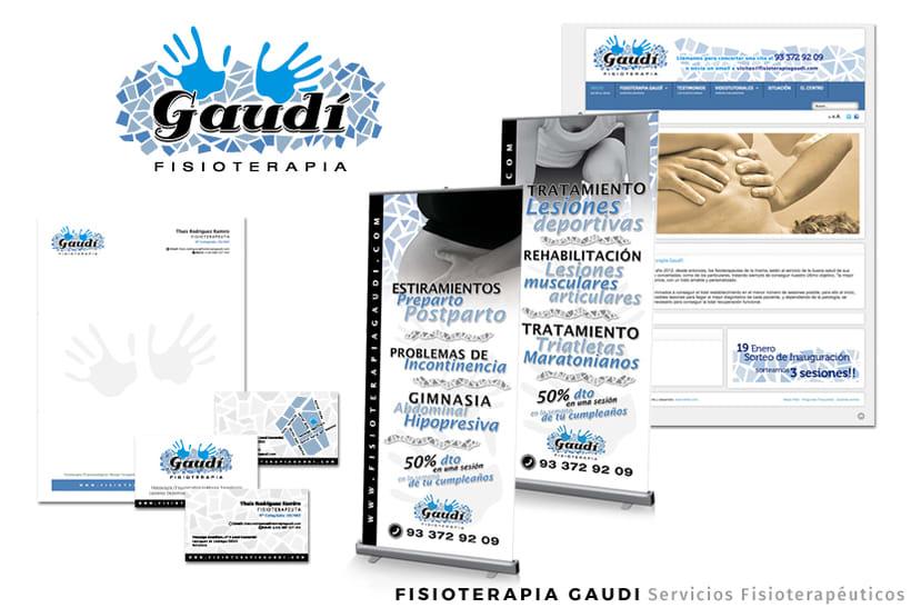 FISIOTERAPIA GAUDI - Direccion Creativa / Arte / Diseño Gráfico / Diseño Web / UX / UI -1