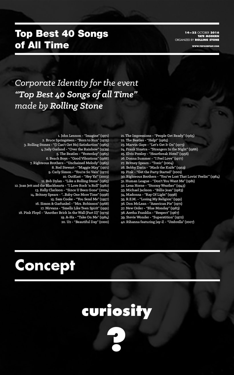 Top Best 40 Songs of All Time - Corporate Identity -1