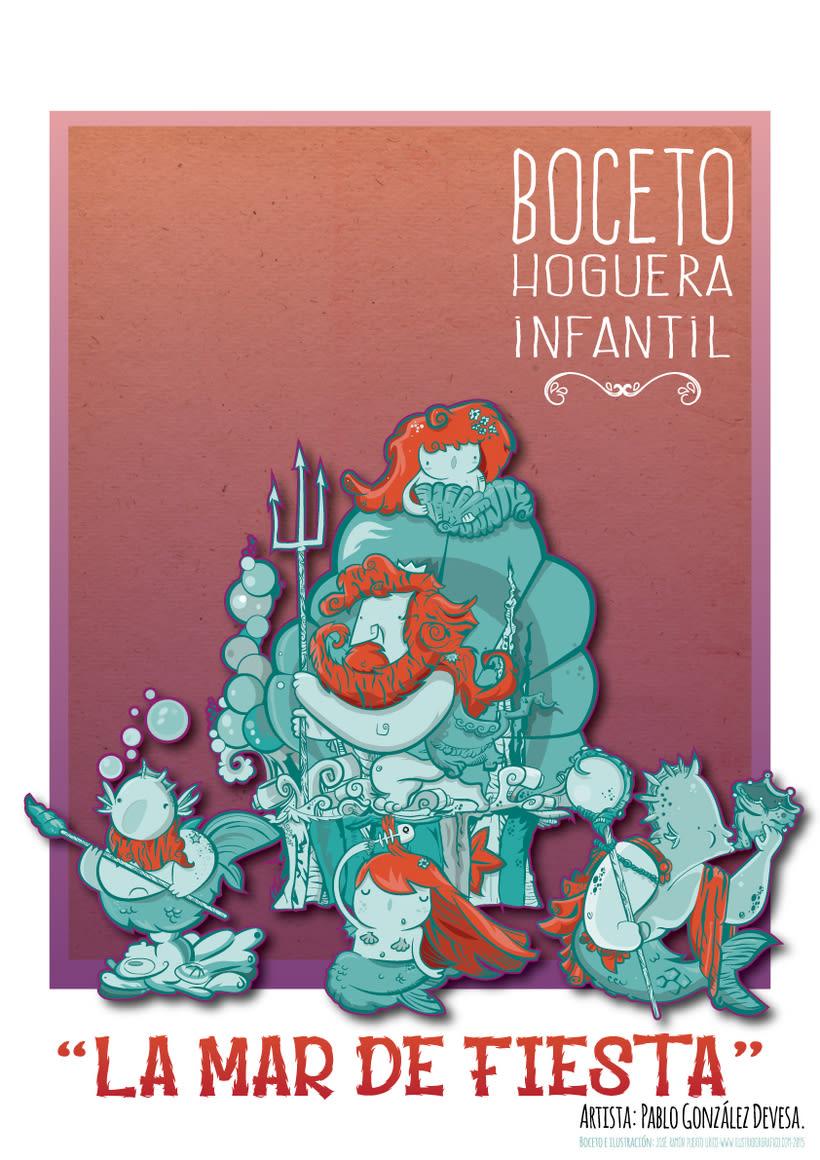 Bocetos & Hoguera Alicante 5
