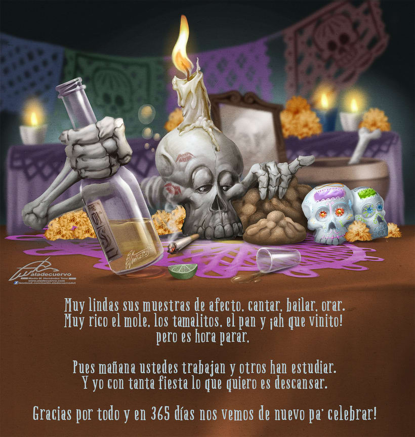 "Dia de Muertos o ""Se gasto"" 0"