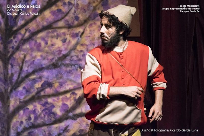 """""""El Médico a Palos"""" de Molière, Dir. Juan Carlos Roldán 8"""