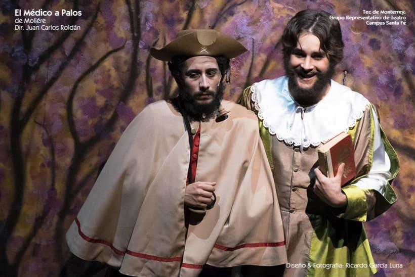 """""""El Médico a Palos"""" de Molière, Dir. Juan Carlos Roldán 13"""