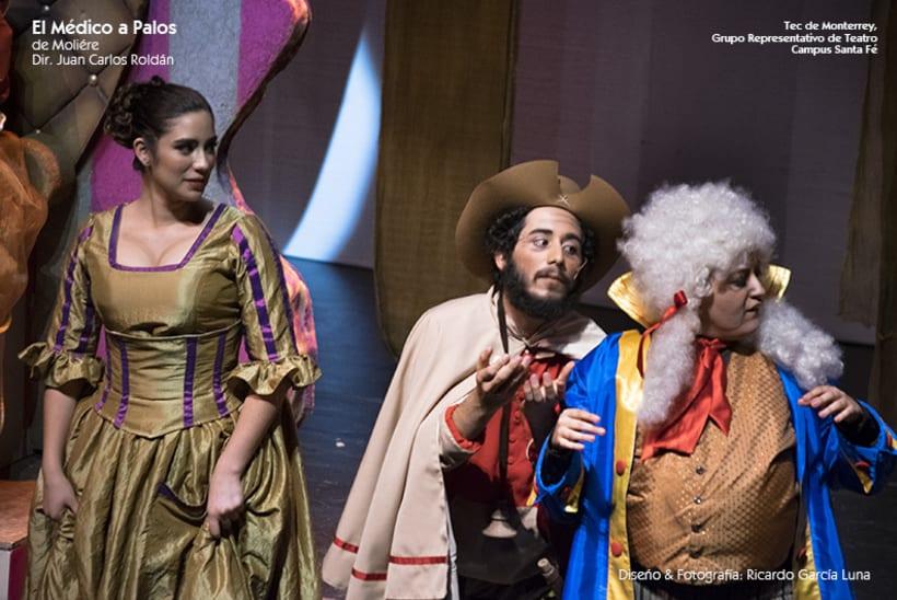 """""""El Médico a Palos"""" de Molière, Dir. Juan Carlos Roldán 26"""