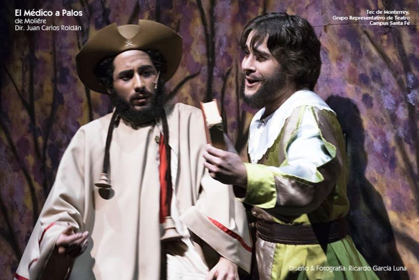 """""""El Médico a Palos"""" de Molière, Dir. Juan Carlos Roldán 28"""