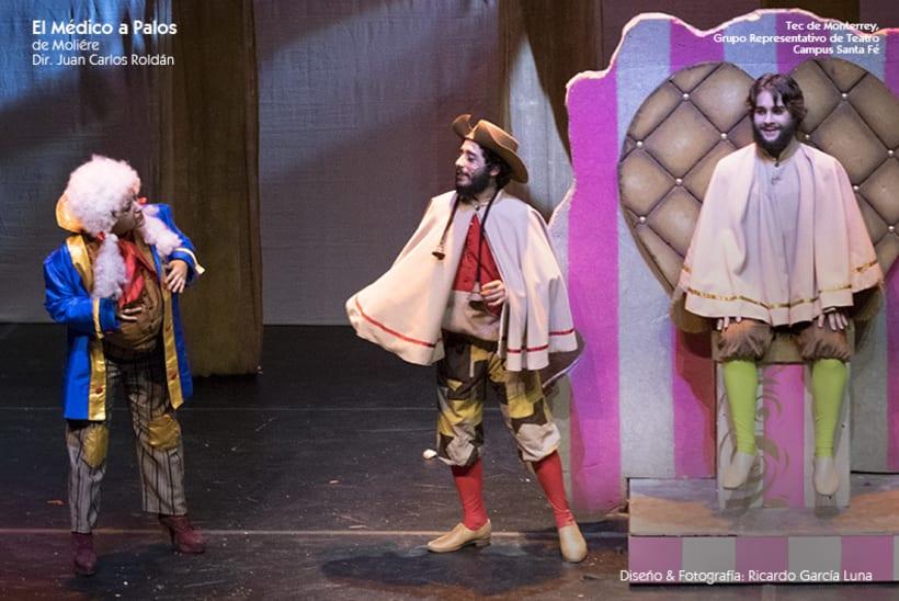 """""""El Médico a Palos"""" de Molière, Dir. Juan Carlos Roldán 30"""