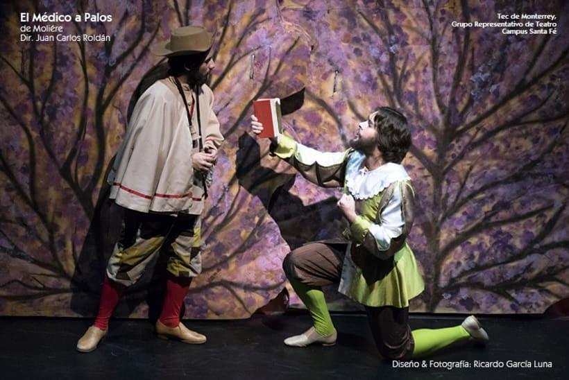 """""""El Médico a Palos"""" de Molière, Dir. Juan Carlos Roldán 43"""