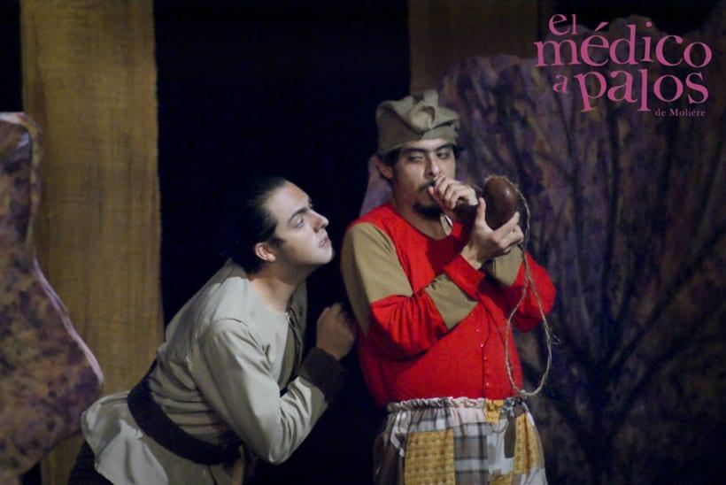 """""""El Médico a Palos"""" de Molière, Dir. Juan Carlos Roldán 47"""