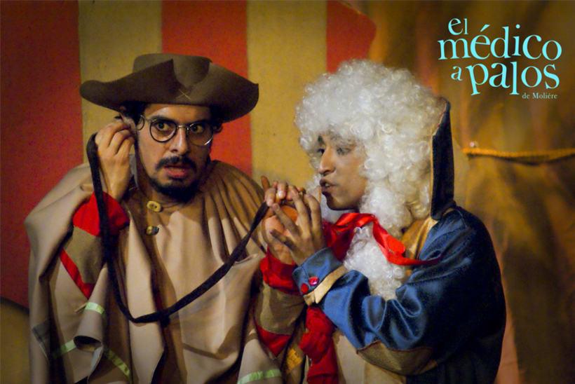 """""""El Médico a Palos"""" de Molière, Dir. Juan Carlos Roldán 52"""