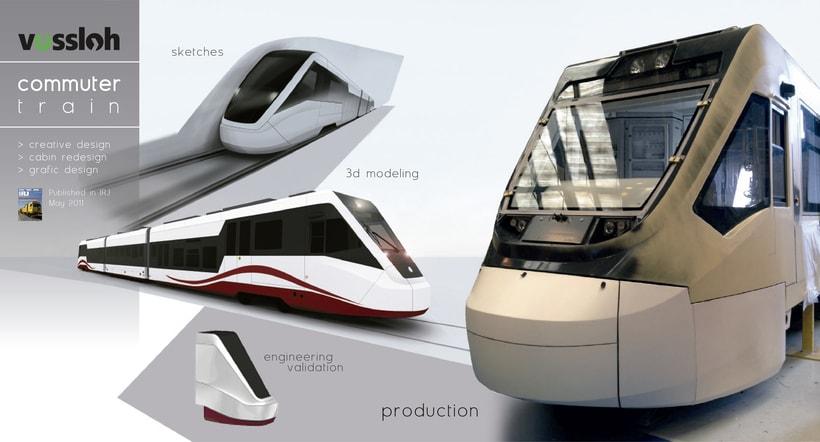 Modeling - commuter train -1