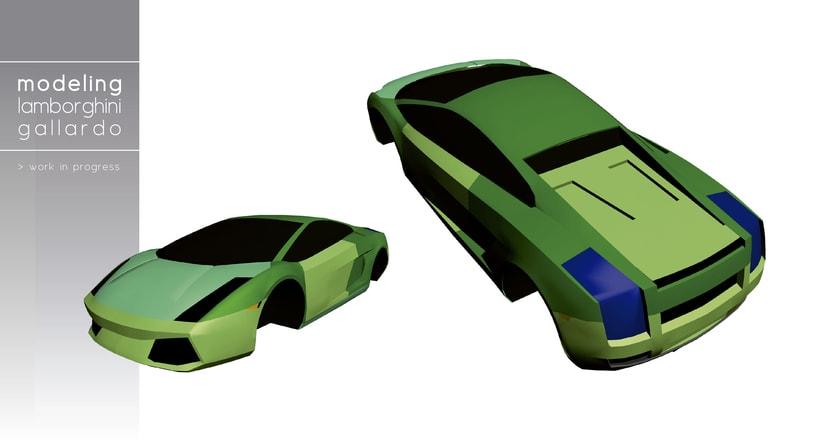 Modeling - Lamborghini Gallardo 0