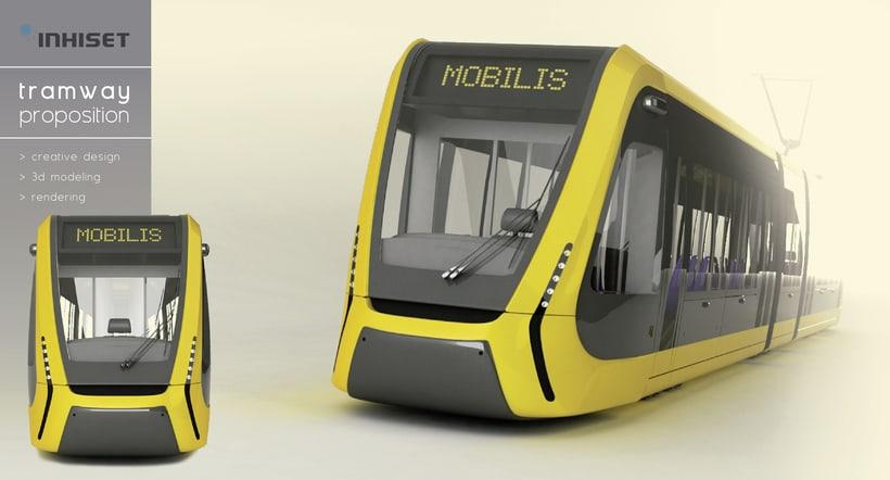 Modeling - Mobilis tramway -1