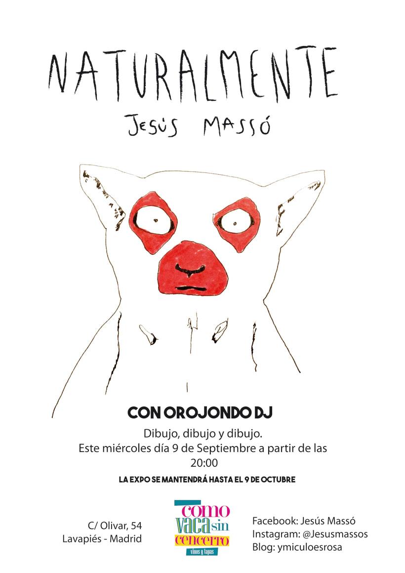 Cartel Exposición Dibujo  -1