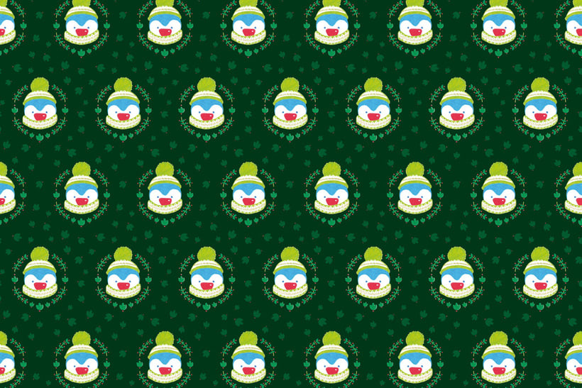 Penguin Christmas | Pattern Design 1