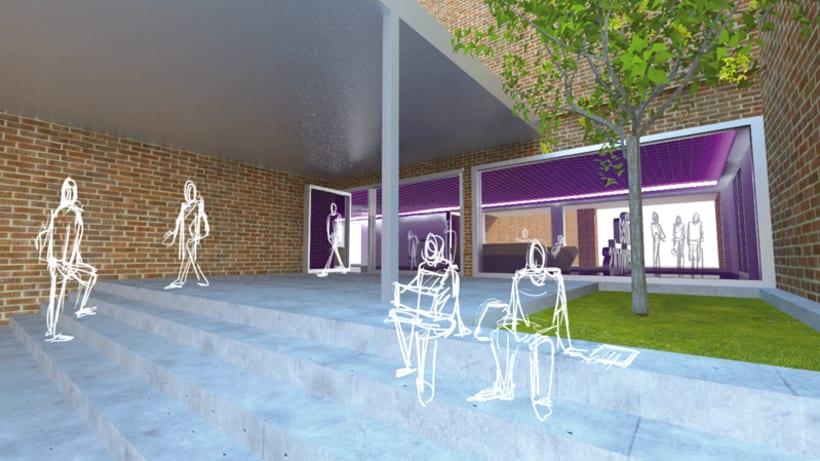 Proyecto de remodelación de hall 5
