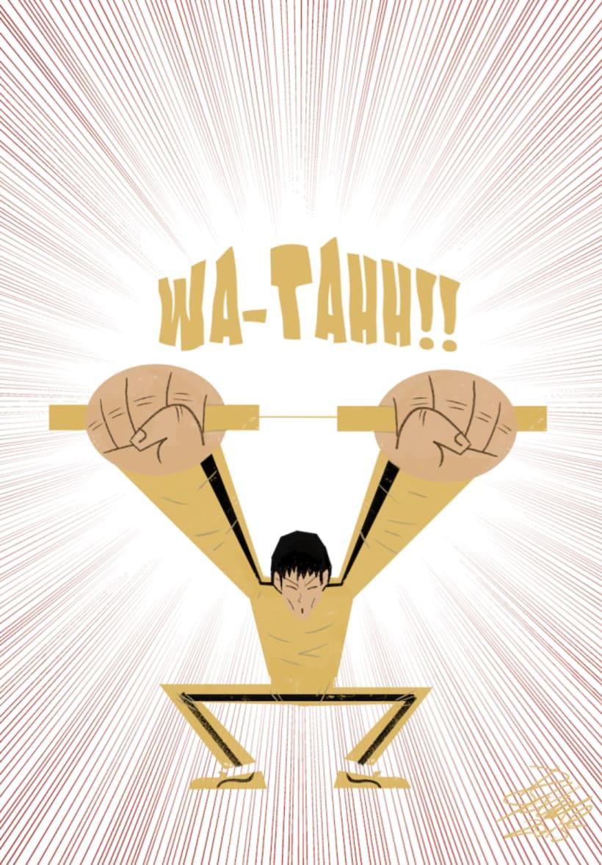 Bruce Lee. WA-TAHH!! -1