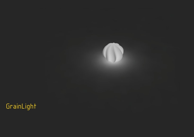 Parametric Lamp: GrainLight. Grasshopper proyect. 0