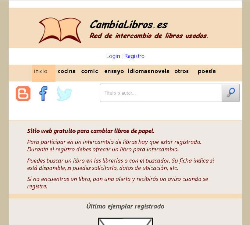 CambiaLibros.es - Comunidad de intercambio de libros de papel 5