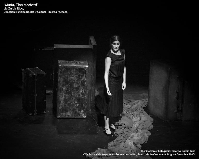 """""""María, Tina Modotti"""" de Zaida Rico, Dir. Haydeé Boetto & Gabriel Figueroa Pacheco. 1"""