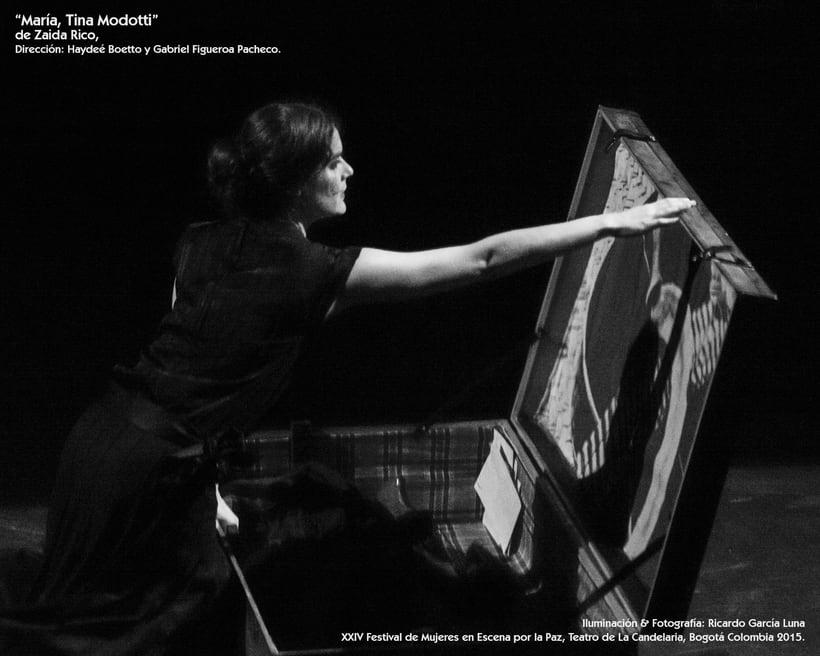 """""""María, Tina Modotti"""" de Zaida Rico, Dir. Haydeé Boetto & Gabriel Figueroa Pacheco. 2"""