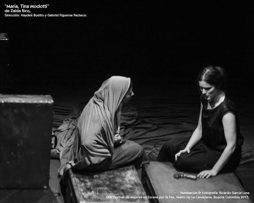 """""""María, Tina Modotti"""" de Zaida Rico, Dir. Haydeé Boetto & Gabriel Figueroa Pacheco. 3"""