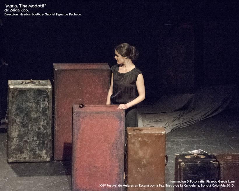 """""""María, Tina Modotti"""" de Zaida Rico, Dir. Haydeé Boetto & Gabriel Figueroa Pacheco. 4"""