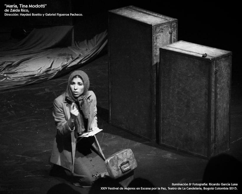 """""""María, Tina Modotti"""" de Zaida Rico, Dir. Haydeé Boetto & Gabriel Figueroa Pacheco. 7"""