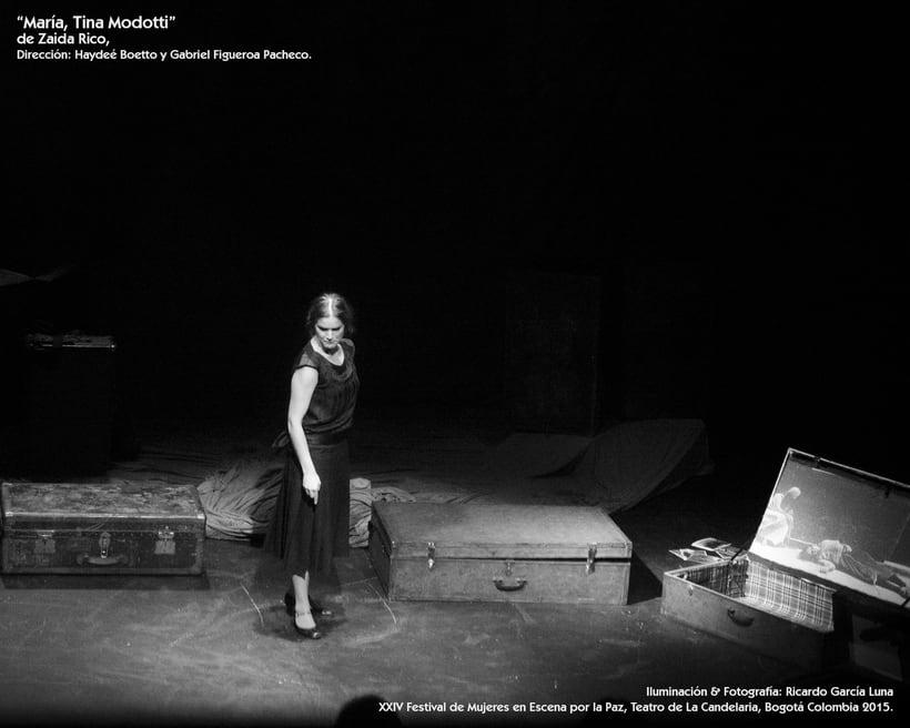 """""""María, Tina Modotti"""" de Zaida Rico, Dir. Haydeé Boetto & Gabriel Figueroa Pacheco. 8"""
