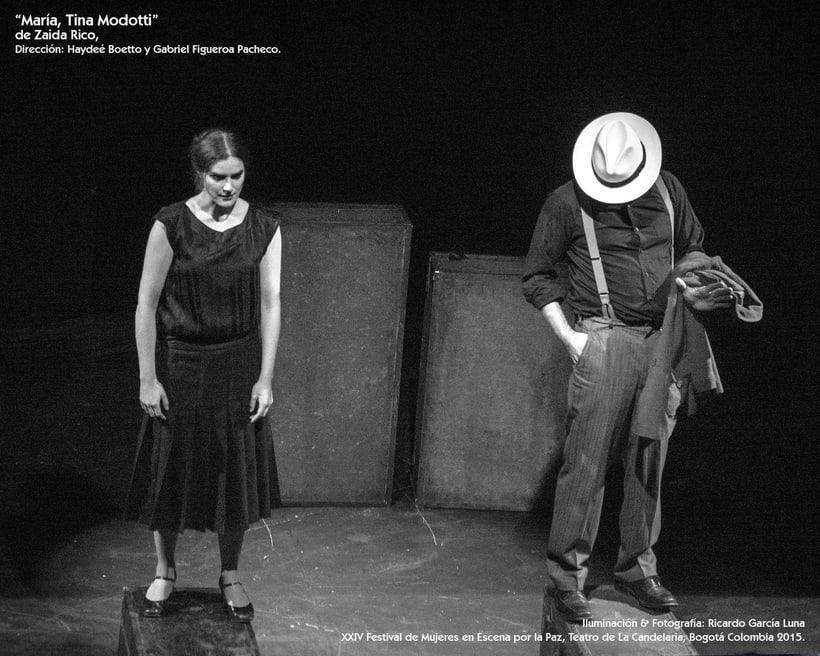"""""""María, Tina Modotti"""" de Zaida Rico, Dir. Haydeé Boetto & Gabriel Figueroa Pacheco. 10"""