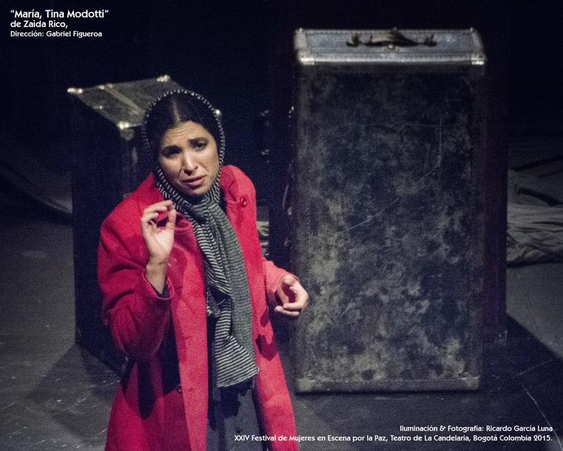 """""""María, Tina Modotti"""" de Zaida Rico, Dir. Haydeé Boetto & Gabriel Figueroa Pacheco. 13"""