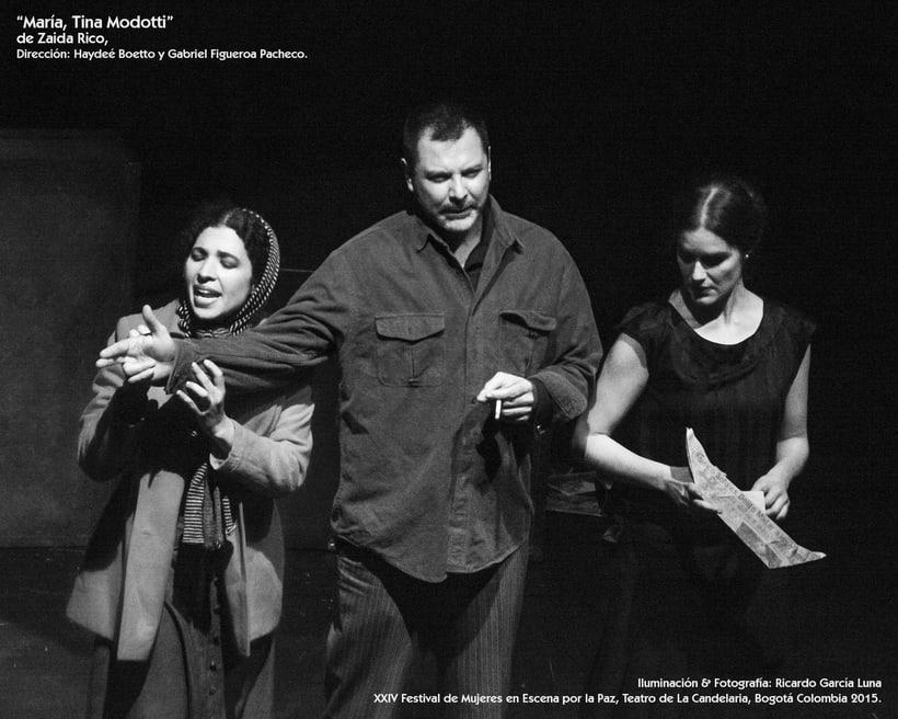 """""""María, Tina Modotti"""" de Zaida Rico, Dir. Haydeé Boetto & Gabriel Figueroa Pacheco. 18"""
