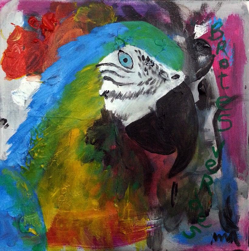 Pintura sobre lienzo -1