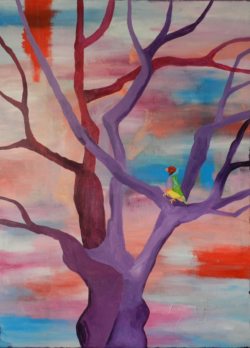 Pintura sobre lienzo 0