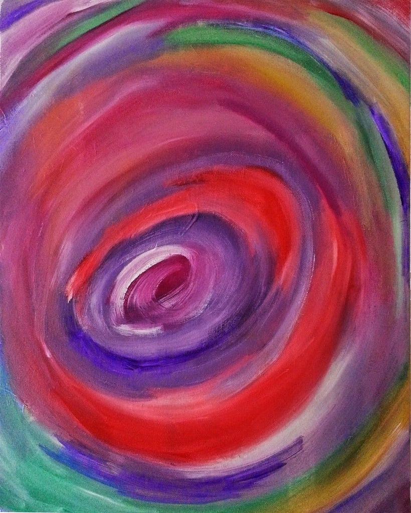 Pintura sobre lienzo 6