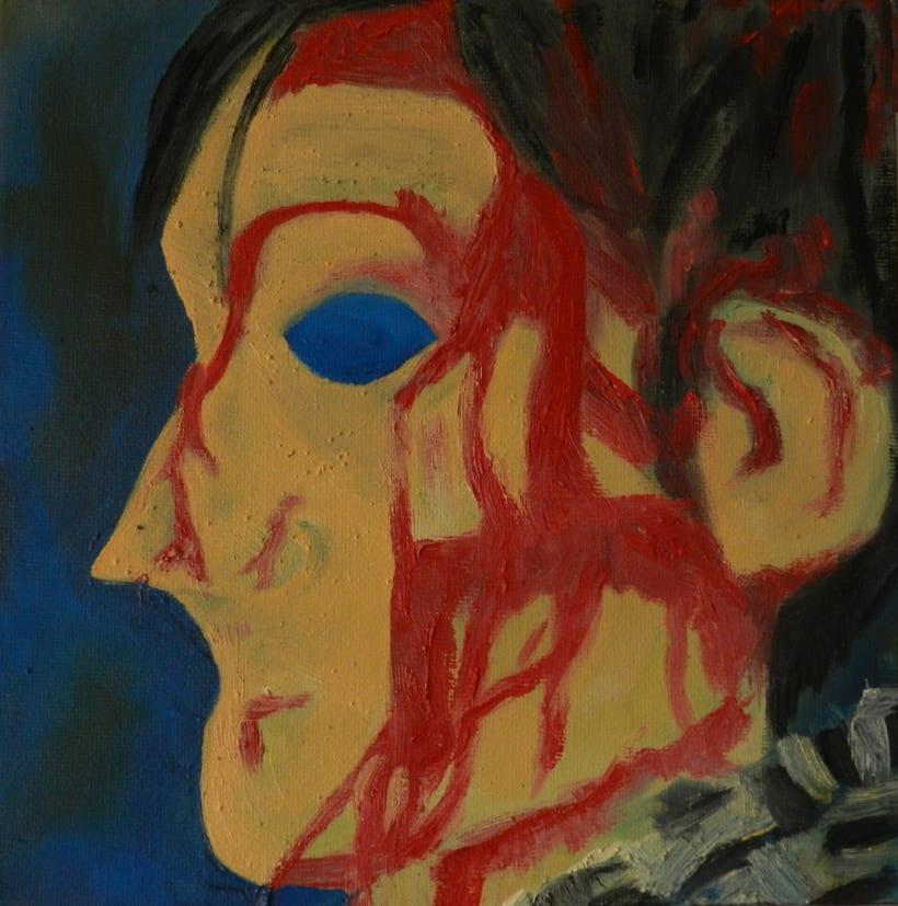 Pintura sobre lienzo 9