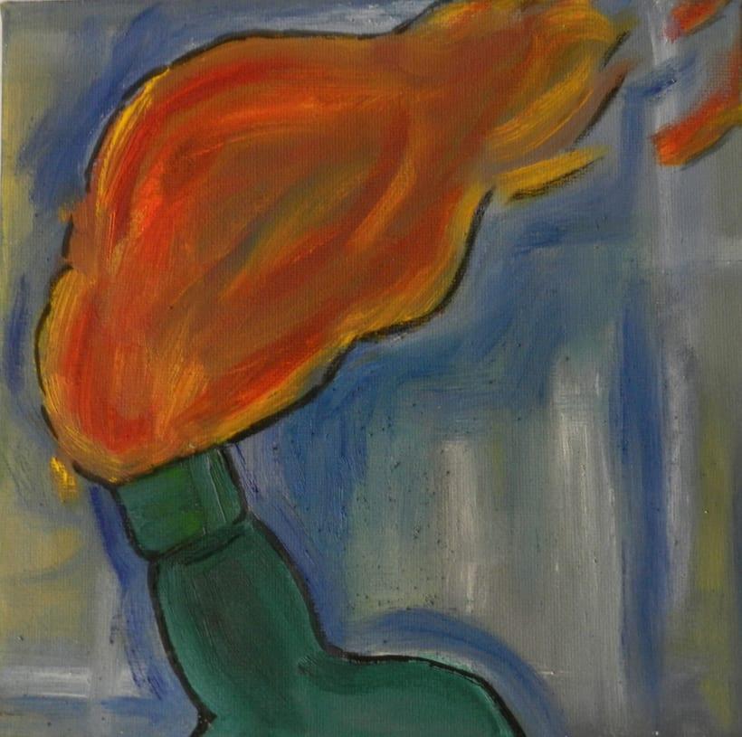 Pintura sobre lienzo 11