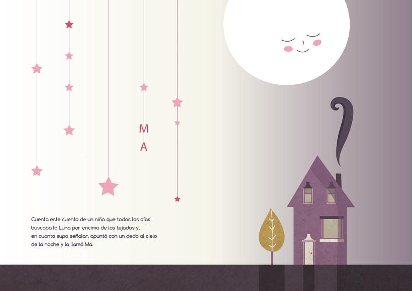 """Álbum ilustrado """"El niño que llamaba Ma a la Luna"""" 0"""
