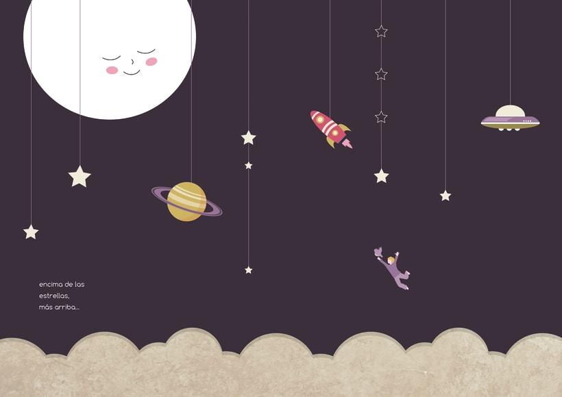 """Álbum ilustrado """"El niño que llamaba Ma a la Luna"""" 2"""